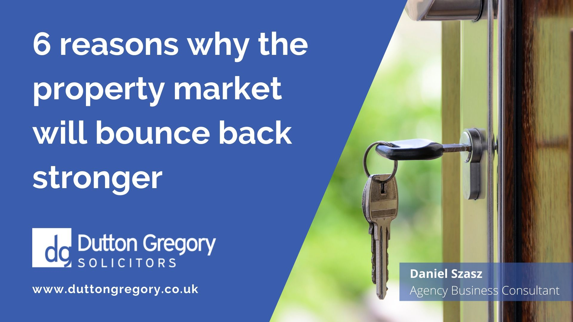 6 reasons why the property market will bounce back stronger