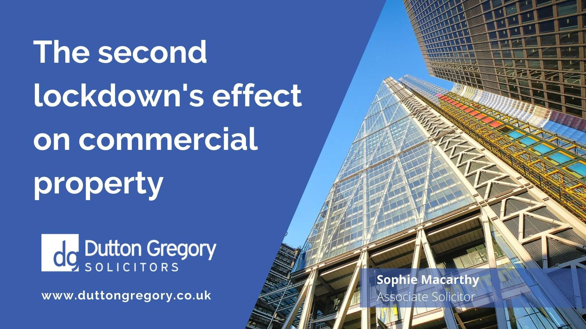 The second lockdowns effect on commercial property